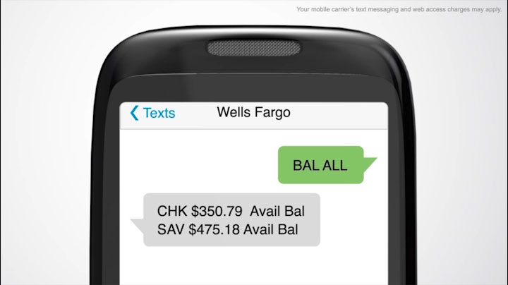 Checking Account Quick Start Guide Text Banking Wells Fargo