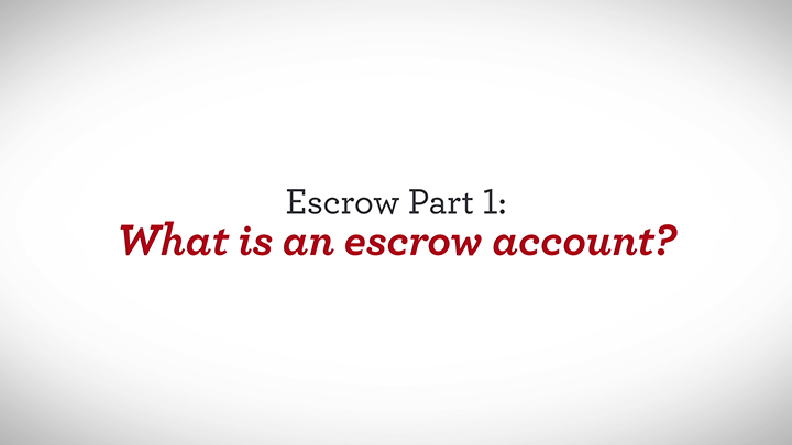 Escrow Part 1 What Is An Escrow Account Wells Fargo