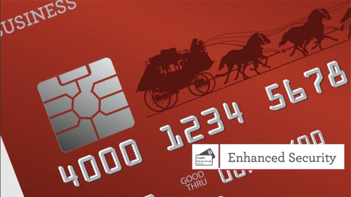 business credit card chip based technology wells fargo
